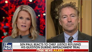 Rand Paul says Justice Roberts shouldn't have censored his question at impeachment trial