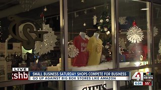 Small businesses compete with online sales, big box retailers