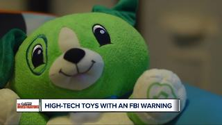 High tech toys with an FBI warning - Video