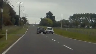 Idiot Driver Overtakes Way Too Close And Nearly Causes A Collision!  - Video