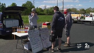 Brewery parking lot now turning into a market amid COVID-19 pandemic
