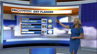 Hot and Humid End to the Week - Video
