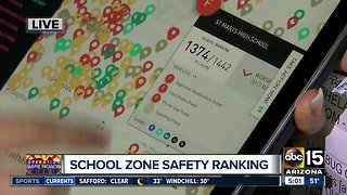 School zone safety: Arizona ranks towards the bottom