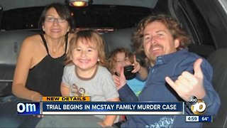 McStay family murder suspect's trial begins