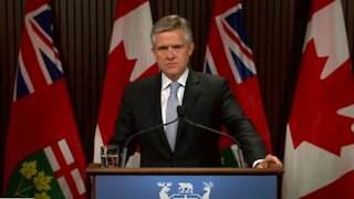 Ontario Finance Minister Goes On Vacation Abroad With His Wife Amid Stay At Home Orders