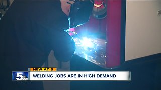 Welding jobs offer great pay without a college degree