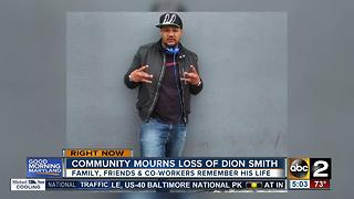 Community mourns loss of BPD spokesperson T.J. Smith's brother Dion - Video