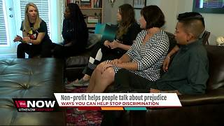 Non-profit helps people talk about prejudice - Video