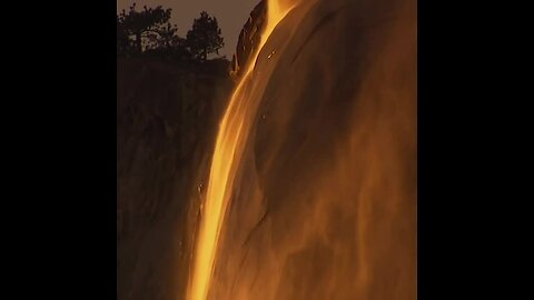 'Firefall' At Yosemite National Park Only Happens Once Every Year