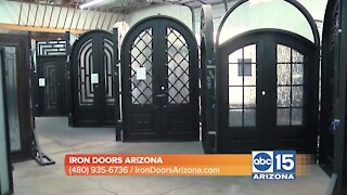 Iron Doors Arizona explains benefits and beauty of a handcrafted iron door