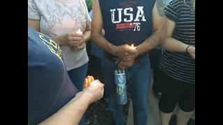 Candle light vigil
