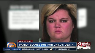 Family blames DHS for child's death