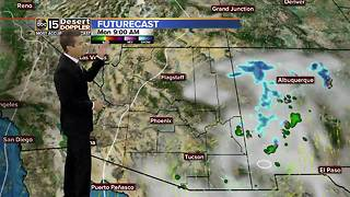 Storm system expected to bring rain to the Valley