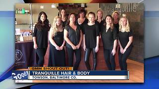 Good morning from Tranquille Hair & Body - Video