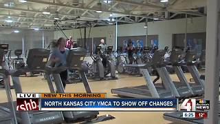 North Kansas City YMCA celebrates new renovations - Video