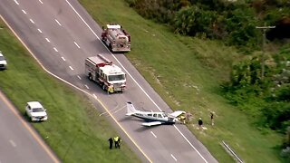 Small plane makes hard landing in Martin County