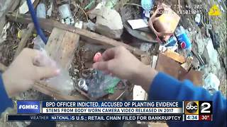 BPD officer indicted for turning off body camera, tampering with evidence - Video