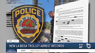 New records released over controversial La Mesa trolley arrest