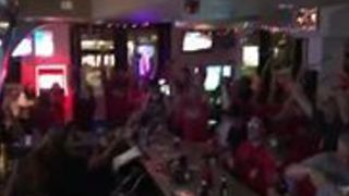 Bartender Celebrates in Style as Capitals Win Stanley Cup - Video