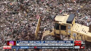 Lasting impact of throwing away PPE