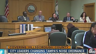 Noise ordinance violations could soon be left up to a police officer's ear - Video