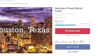 JJ Watt donates $100K to Hurricane Harvey relief fund - Video