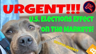 URGENT!! U.S. Elections Effect on Precious Metals and Cryptocurrency