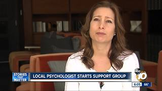 Local psychologist who was at Vegas shooting starts support group