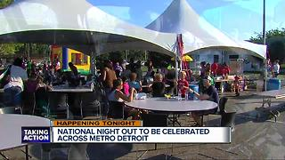 National Night Out celebrated tonight - Video