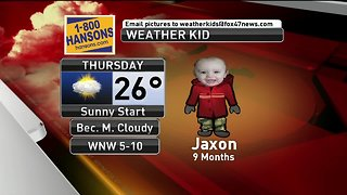 Weather Kid - Jaxon - 3/7/19
