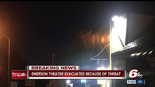 Bomb threat at Indy east side theatre causes evacuation - Video