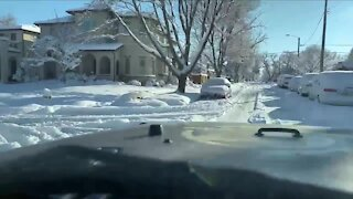 What's Driving You Crazy? Lane recognition on snow days