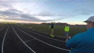 Beer Mile World Record Attempt - Video