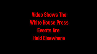 Video Shows The White House Press Events Are Held Elsewhere 3-13-2021