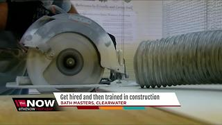 Local contractor expanding efforts to train workers in construction - Video