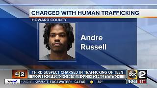 Third person arrested for forcing a teen girl into prostitution - Video