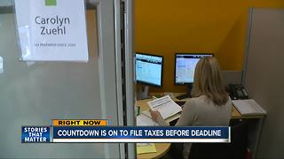 Last day to file taxes - Video