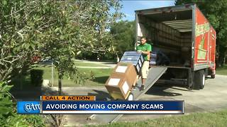 Tips to avoid moving company scams - Video