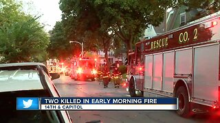 Two killed in early morning fire near Capitol Drive.