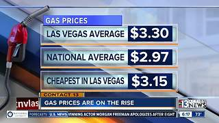 Gas prices are still rising