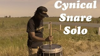 Talented Musician Shows Off Incredible Snare Solo - Video