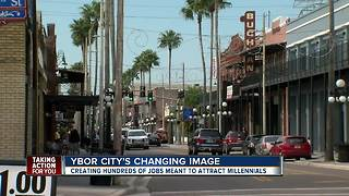 Ybor City hopes to attract millennials by creating more office jobs - Video