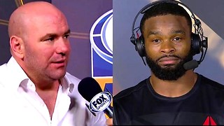 Tyron Woodley FIRES BACK at Dana White for Criticizing UFC 214 Fight - Video