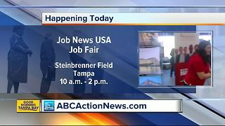 JobNews USA hosting a job fair at Steinbrenner Field on July 11 to fill hundreds of open positions - Video