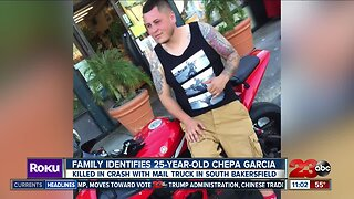 Family identifies 25-year-old Chepa Garcia in killed in motorcycle crash with mail truck