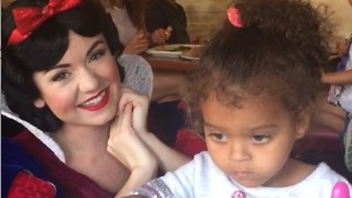 This Little Girl Doesn't Care About Snow White - Video