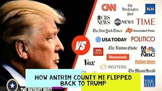 EVIDENCE HOW ANTRIM COUNTY MI FLIPPED BACK TO TRUMP