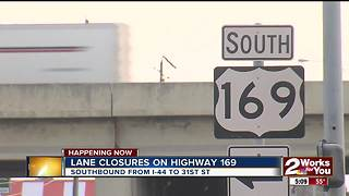Highway 169 resurfacing project causes lane closures - Video