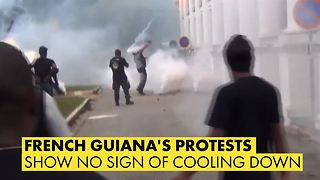 French Guiana may shut down as riots intensify - Video
