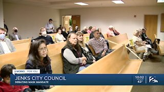 Jenks City Council approves mask ordinance